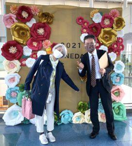 昨日は淡路島玉ねぎネクタイ&マスクをして、星の子クラリティの羽田空港イベントに参加して来ま…