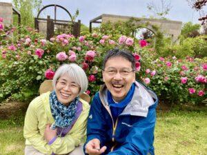 東浦方面に用事があったため、薔薇さんの開花状況を確認しようと、コロナ禍で休館中の「奇跡の星…