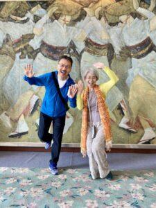 こんばんは今日は徳島で、ひと踊りしてから…ゆうこりん、上手いイザナミ神社へ。イザ…