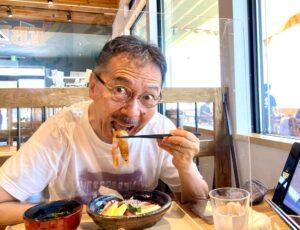 今日は、ゆうこりんが、ヘアカットへお昼ご飯は、今月に新しくオープンした「淡路島海鮮 理生…