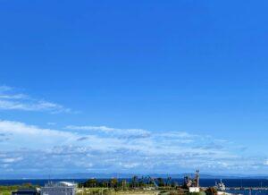 台風🌀の影響はほとんど受けず、午後からいきなり綺麗に晴れ渡った☀️淡路島です❣️